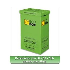 Smaltimento Toner e Cartucce Ecobox